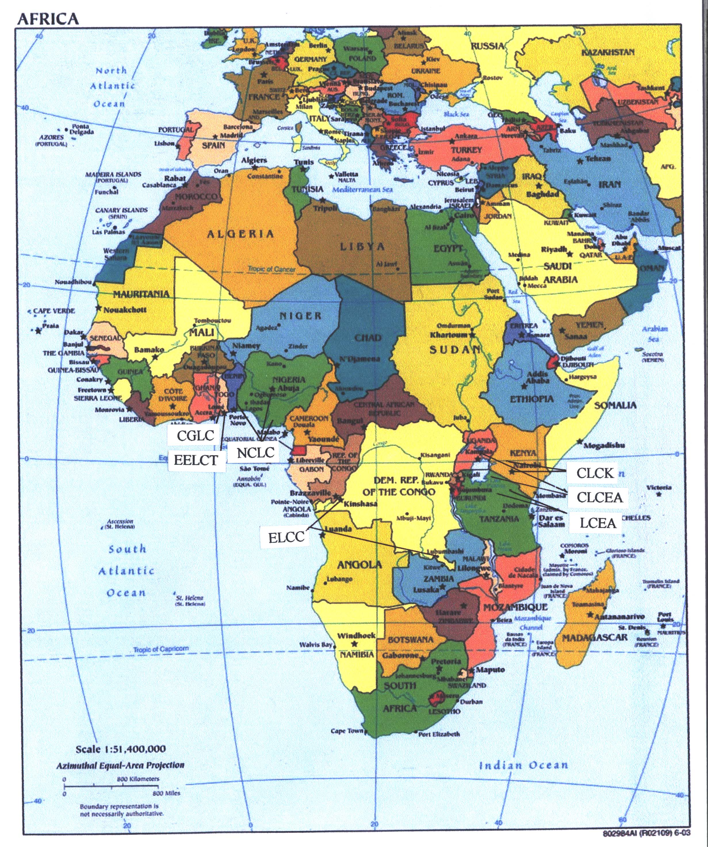 Map Of India And Africa.Africa