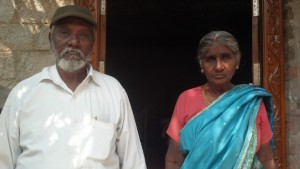 G.D. Bakthavachalam and wife, Usha