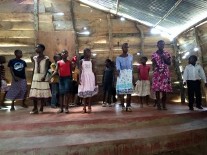 Iganga Sunday School in New Church Building 2015